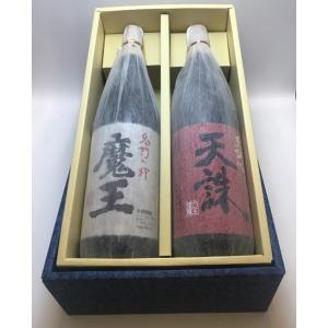 白玉醸造 お勧めギフトセット 『魔王+天誅』 一升瓶|entia