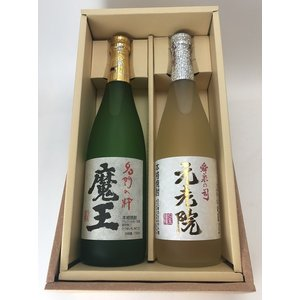 白玉醸造 お勧めセット 『魔王+元老院』箱付き 720ml|entia