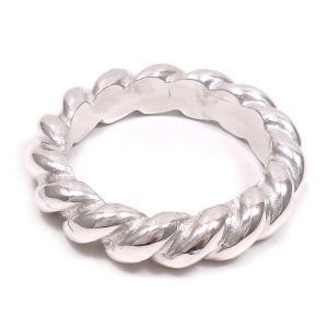 リング 指輪 メンズ ツイストデザイン 18号 シルバー925 ベルフィオーレ|entiere