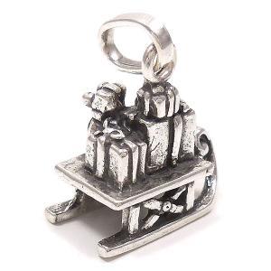 チャーム ペンダントトップ サンタのソリ シルバー925 CHARMS&Co.|entiere|03