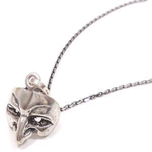 ネックレス レディース メンズ ベネチアンマスク 鷲鼻の男の仮面 ペンダント シルバー925 entiere