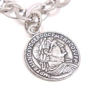 ブレスレット レディース メンズ 古代ローマコインチャーム シルバー925 ジョバンニ・ラスピーニ|entiere|02