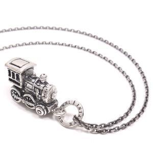 ネックレス レディース メンズ おもちゃ 機関車 ペンダント シルバー925|entiere