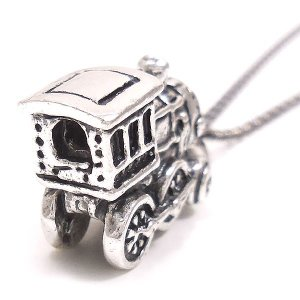 ネックレス レディース メンズ おもちゃ 機関車 ペンダント シルバー925|entiere|02