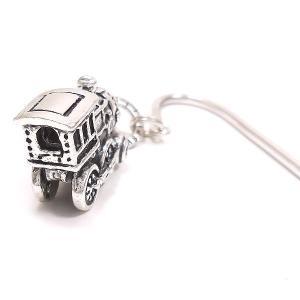 しおり ブックマーカー 栞 ブックマーク おもちゃ 機関車 シルバー925|entiere|03