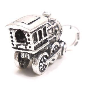 チャーム ペンダントトップ おもちゃ 機関車 シルバー925 CHARMS&Co.|entiere|03