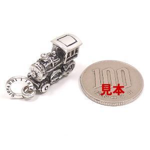 チャーム ペンダントトップ おもちゃ 機関車 シルバー925 CHARMS&Co.|entiere|06