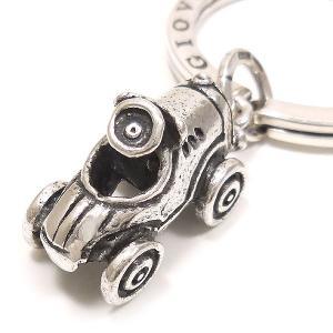 キーリング おもちゃ 自動車 ダブルリング シルバー925 CHARMS&Co. イニシャル刻印(別料金)|entiere|03