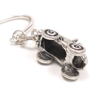 しおり ブックマーカー 栞 ブックマーク おもちゃ 自動車 シルバー925|entiere|04