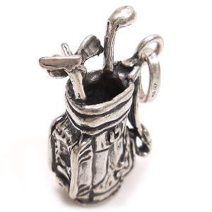 チャーム ペンダントトップ ゴルフバッグ シルバー925 CHARMS&Co.|entiere|02