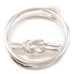 マネークリップ シルバー925 結び目飾り イタリア製|entiere