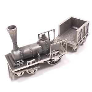 置き物 オブジェ シルバー925 蒸気機関車|entiere