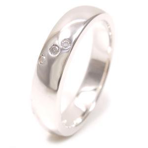 リング 指輪 レディース 3ストーンダイヤモンド 7号 シルバー925 entiere