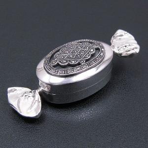 名入れシルバーピルケース 小物入れ キャンディー型 (刻印別料金)|entiere