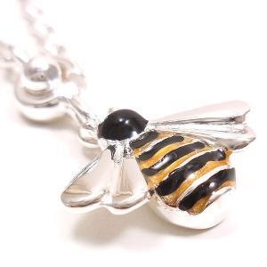 シルバーキーホルダー ミツバチ 蜜蜂 サツルノ|entiere|03