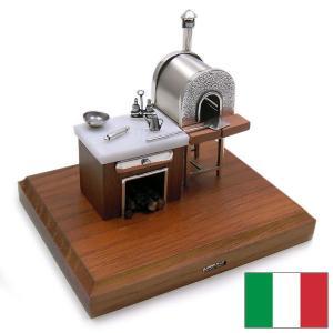 ピザ窯の銀細工・置き物 イタリア:Sacchetti(サケッティ)|entiere