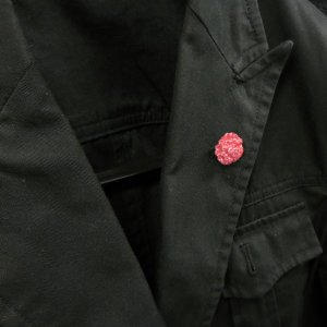 ピンブローチ ラペルピン 花 フラワー カーネーション ピンク シルバー925 サツルノ|entiere|06