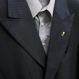 ピンブローチ ラペルピン 花 フラワー バラ 黄色 シルバー925 サツルノ|entiere|06