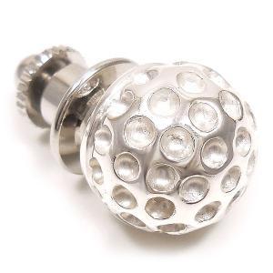 ピンブローチ ラペルピン ゴルフボール シルバー925 サツルノ|entiere|02