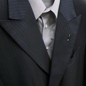ピンブローチ ラペルピン シルバー925 ペン 万年筆 ブラック イタリア製 サツルノ メンズ レディース|entiere|06