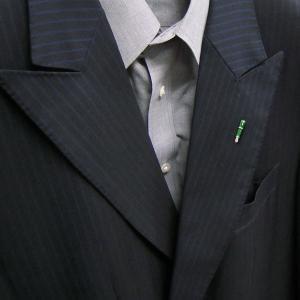 ピンブローチ ラペルピン シルバー925 ペン 万年筆 グリーン イタリア製 サツルノ メンズ レディース|entiere|06