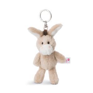 キーホルダー NICI ニキ キーリング ドンキー 10cm ロバ 動物 どうぶつ アニマル 人形