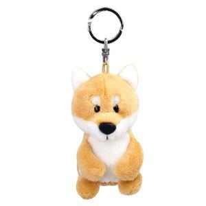 キーリング キーホルダー ビーンバッグ NICI ニキ ビーンバッグ シバ 10cm 犬 キーホルダ...