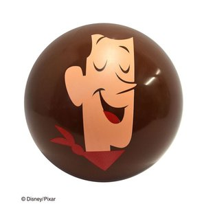 「トイストーリー4」の人気キャラクターのボールで楽しく遊ぼう!  空気を入れる量によって大きさが自由...