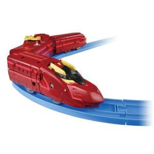 シンカリオン プラレール 新幹線変形ロボ おもちゃ 男の子 DXS13 ブラックシンカリオン紅|eomotya|02