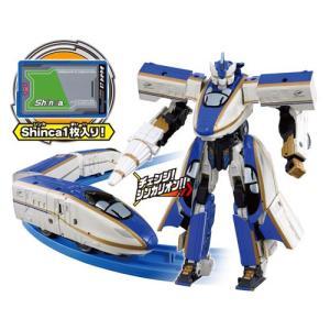 シンカリオン プラレール 新幹線変形ロボ おもちゃ 男の子 DXS03 シンカリオン E7かがやき