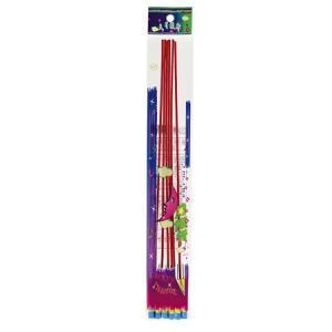 中国 ロケット花火 大月旅行(6P) パンッ 1袋(6本入) まとめ買い10個セット 代引不可の商品画像|ナビ