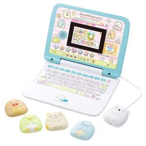 すみっコぐらしのかわいいパソコンが登場!勉強も遊びもこれ1台!すみっコたちと楽しくパソコン操作を覚え...