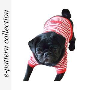 (型紙・パターン) 犬服・Tシャツ型紙・小型犬用