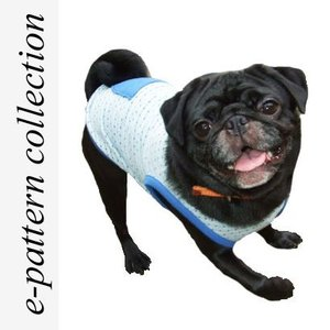 (型紙・パターン) 犬服・タンクトップ型紙・小型犬用