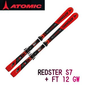 2019 ATOMIC REDSTER S7 + FT 12 GW AASS01656  ※板&専用...