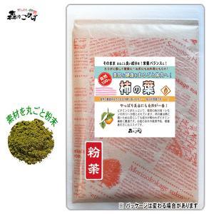 柿の葉茶 (粉末) パウダー 100g 送料無料 森のこかげ...