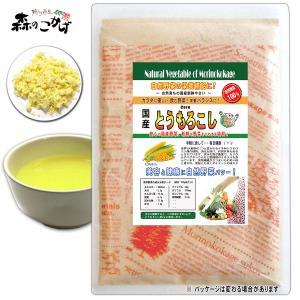 国産 トウモロコシ 粉末 100g コーン パウダー 野菜粉末 送料無料 ポイント消化 森のこかげ|epicot