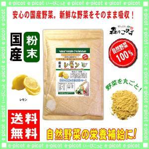 国産 レモン 粉末 300g れもん 檸檬 パウダー 業務用 野菜粉末 送料無料 森のこかげ|epicot