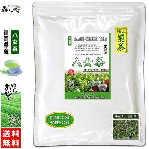 極上 煎茶 (300g 内容量変更) 八女茶 福岡県 日本茶 厳選の緑茶 国産 送料無料 森のこかげ|epicot
