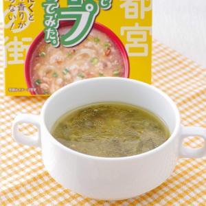 餃子の具でスープを作ってみた スープ 餃子  栃木土産 宮島醤油 epinardnasu