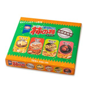 北関東限定 亀田のお土産柿の種(ピーナッツ入り)  餃子風味・・・ニンニクのきいたおいしさ! 焼ねぎ...