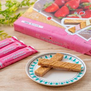 とちおとめ チョコサンド 24枚入 いちご 苺 イチゴ 栃木限定|epinardnasu