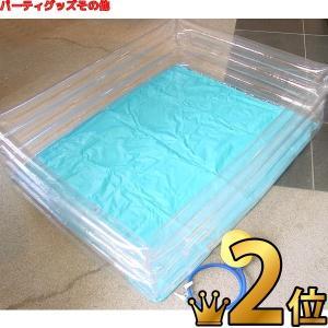 ビニールプール 四角 1m20cm|epkyoto