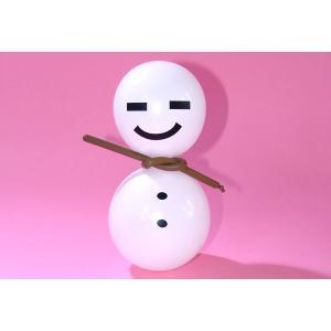 工作イベントキット 雪だるま風船 30人用|epkyoto