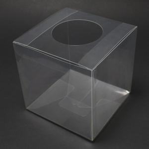 抽選箱 ポリ 16.7cm角 透明|epkyoto