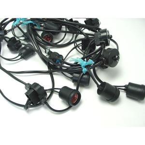 提灯用 電気コード 30灯 50cm間隔 全長18.5m|epkyoto