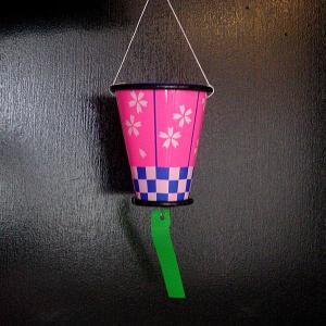 ぼんぼり提灯[ちょうちん] 桜 12cm 20ヶセット|epkyoto