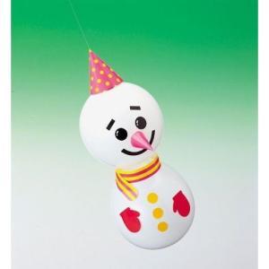工作イベントキット 雪だるま風船 50ヶセット|epkyoto