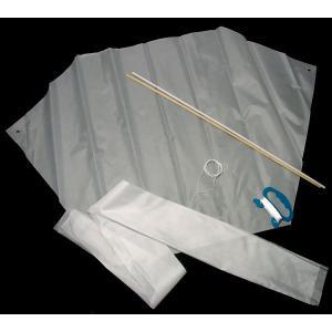 工作キット 手作り凧 六角 ビニール|epkyoto