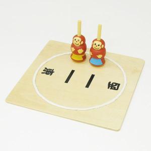 木のおもちゃ 駒相撲|epkyoto
